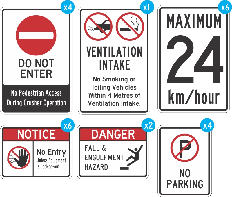 Safety & Regulatory Signage