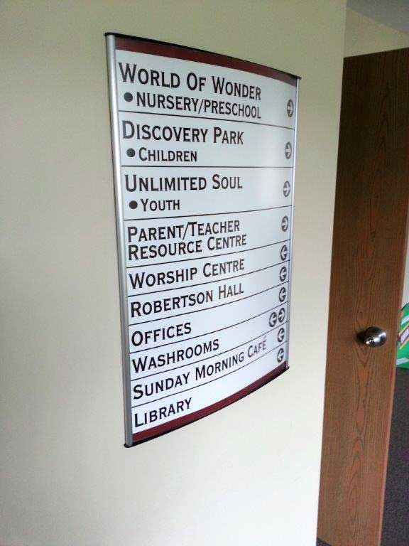Directory & Way Finding Sign Systems