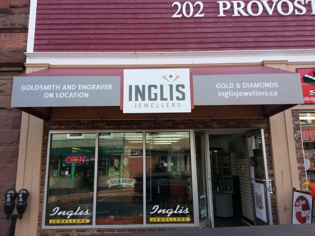 inglis jewellers building signs